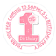 48-Personnalise-Fete-Sac-Stickers-1st-Anniversaire-Sweet-Sac-Seals-40-mm-etiquettes miniature 1