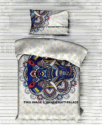 Indian Elephant Hippie Mandala Tapestry Wall Hanging Bedspread Throw Decor SB177