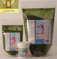 Spirulina For Birds Natural Supplement Protein Vitamin Carbohydrates Minerals