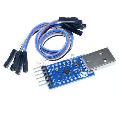 5PCS CP2104 USB UART6PIN module serial converter STC PRGMR replace CP21022.0 TTL