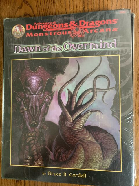 DAWN OF THE OVERMIND  AD&D MONSTROUS ARCANA AD&D TSR 9572