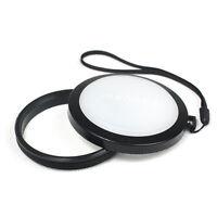 Mennon 62mm White Balance Lens Cap Cover WB Filter for Canon Nikon Camera SLR