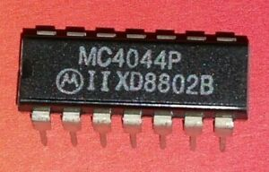 MC4044P Motorola RF Detector IC Circuit Chip (C64 Commodore) NOS IC NEW