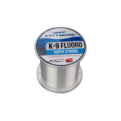 K9 Fishing Fluorocarbon Line Spool K955014CL