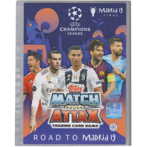 Road to Madrid 2019-1 Sammelmappe Champions League TOPPS
