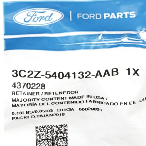 2008-2014 Ford E150 E250 E350 Econoline Van Grey Sun Visor Clip Retainer OEM NEW