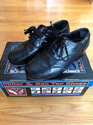 Miller /& Ben Tap Shoes; Jazz-Tap Master; All Black Medium Width Tap Shoe