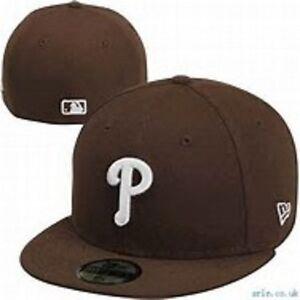 big sale 92023 94523 Image is loading New-Era-Philadelphia-Phillies-MLB-59Fifty-Basic-Team-