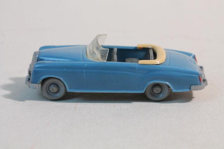 376 Typ 1B Wiking Mercedes 220 Cabrio 1958 - 1965   mattgraublau  | Klein und fein
