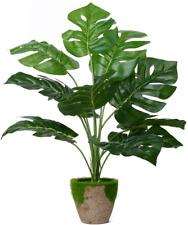 Tropical Plants Artificial Turtle Leaves Lifelike Palm Simulation Green Plant