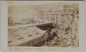 Carlo-Ponti-Terrazzo-Genova-Italia-CDV-Foto-Vintage-Albumina-c1860-5