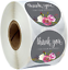 Thank You Stickers For Your Purchase Order Professional Business Labels 25mm