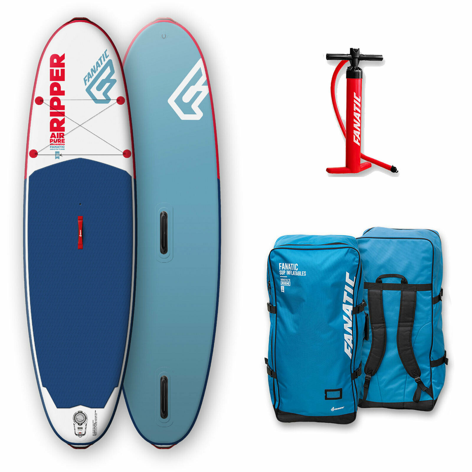 Fanatic Hinchable Ripper Air Windsurf Pure Kinder-Sup Tabla de Surf I-Sup