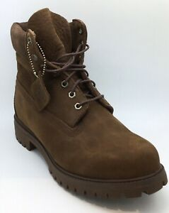 Timberland Mens 6in Brown Boots UK 10
