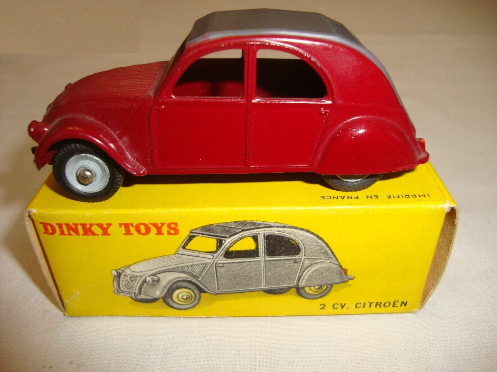 nueva marca Francés Dinky 535 Citroen 2CV-Excelente En Caja Caja Caja Original Muy Buena  a la venta