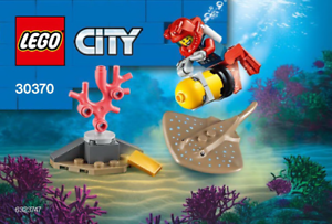 Diver With Stingray Polybag New /& Sealed 2020 Lego 30370
