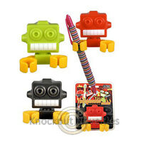 Robot Clips - Toothbrush Pencil And Pen Holder
