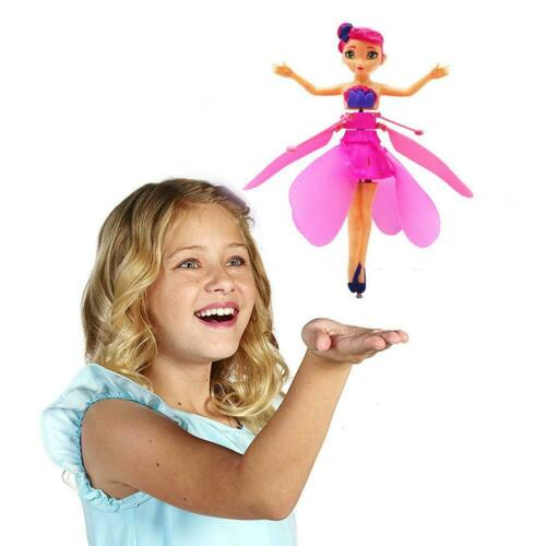 Flying Princess Dolls Magic Infrared Induction Control Toy Kids Xmas Gift