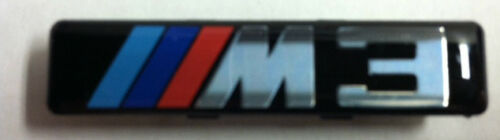 Genuine BMW 3 Series E46 M3 Side Grille Emblems Set of 2-72127900605 New!