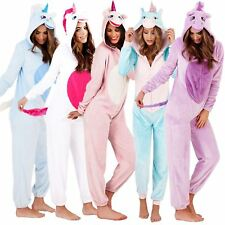 4aa496ea434a item 3 Womens Ladies Unicorn Animal Novelty Soft Fleece Loungewear Pyjama  All in One -Womens Ladies Unicorn Animal Novelty Soft Fleece Loungewear  Pyjama All ...