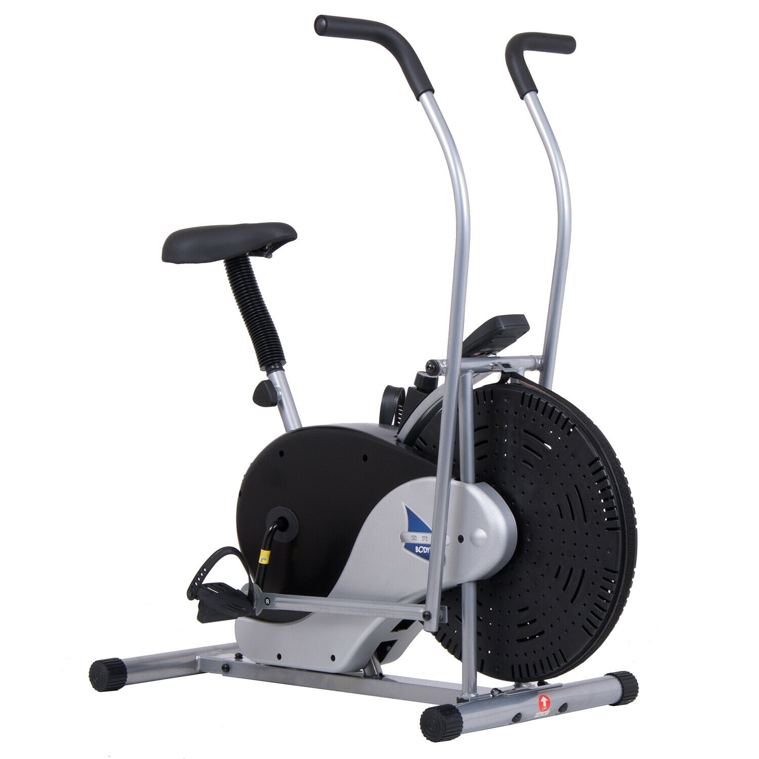 Body Rider Upright Fan Bike Dual Action Handlebars Comfortable And Durabe Pedals action and bike body comfortable dual fan handlebars rider upright