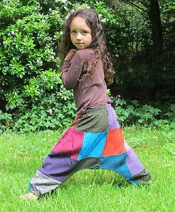 Childrens-Kids-Harem-Trousers-Girls-Boys-Cotton-clothes-Baby-Aladdin-Pants