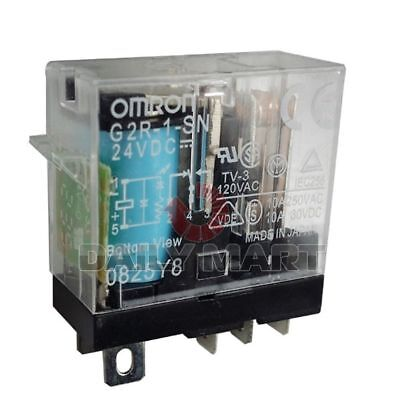 2PCS NEW FOR OMRON G2R-1-SN-12V Relays  #w4413  wx
