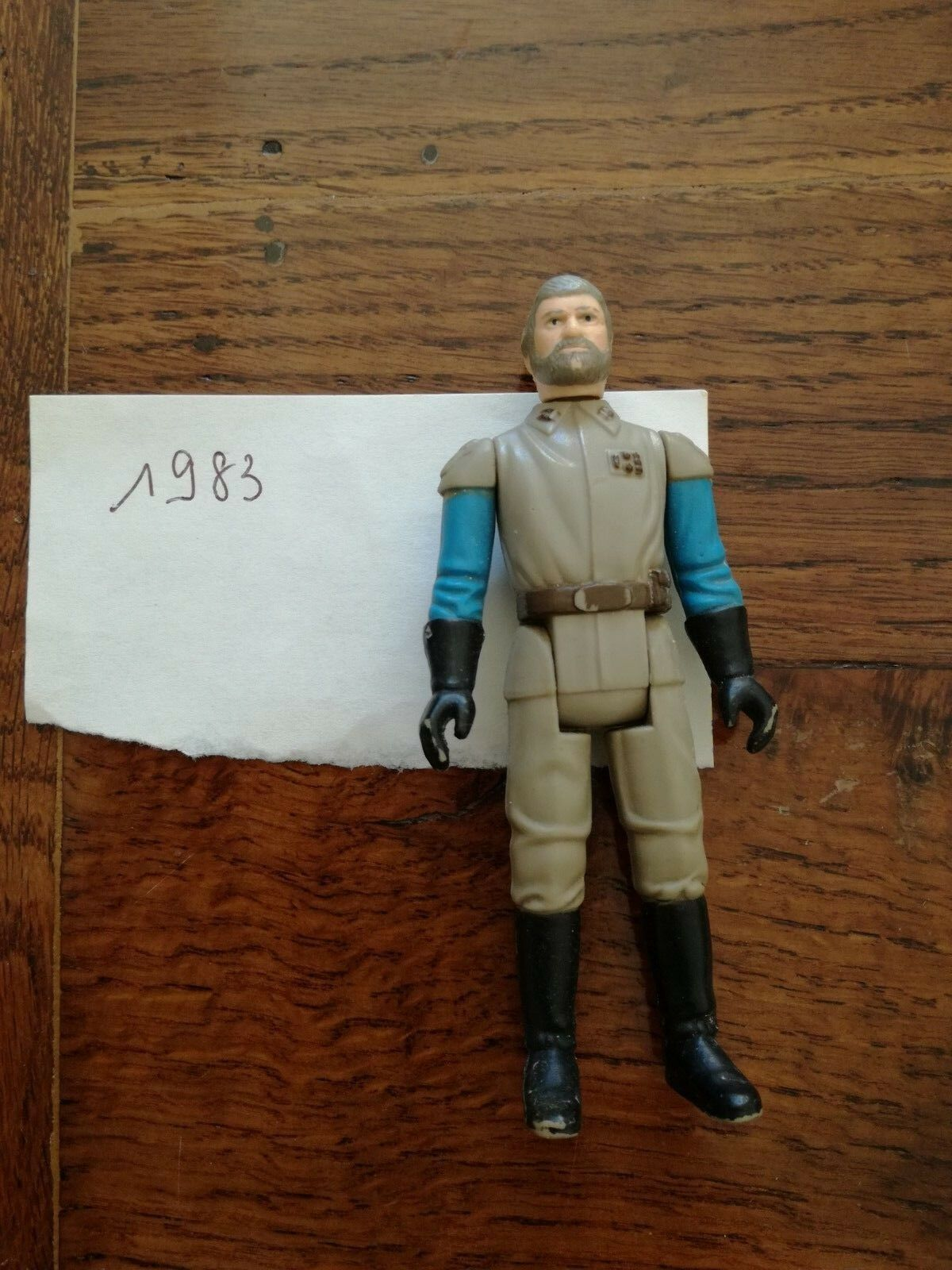 StarWars collection : Star Wars Figurine Général Madine / 1983