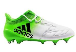 Details zu Adidas X 16.1 SG Fußballschuhe Herren Leder Stollen weiß BB2126 Gr. 40 44 NEU
