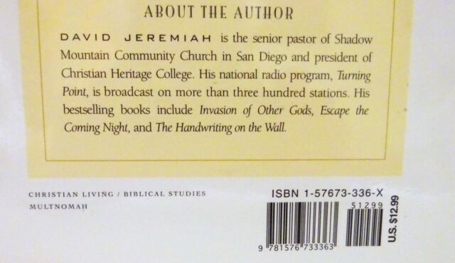 What The Bible Says About Angels By David Jeremiah 1998 Paperback