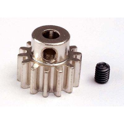 Traxxas Gear, 14-T Pinion (32-P) (Mach. Steel)/ Set Screw Z-TRX3944