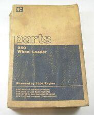 Cat Caterpillar 950 Wheel Loader Parts Manual Book Catalog 81j 31k To Last Built