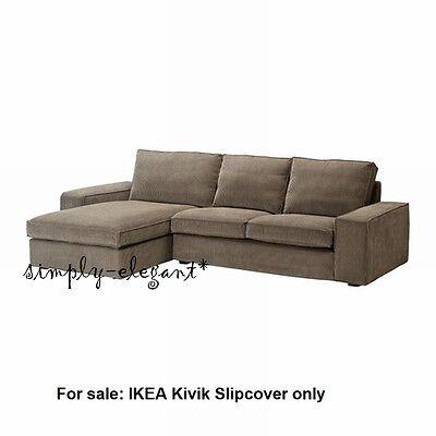 Wondrous Ikea Cover For Ikea Kivik Loveseat Chaise 110 1 4 Corduroy Tranas Light Brown Ebay Uwap Interior Chair Design Uwaporg