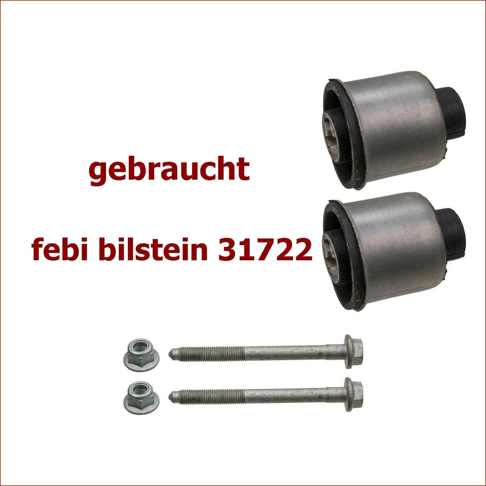 FEBI BILSTEIN Lagersatz Achskörper PROKIT Hinterachse //// 14398