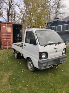 1991 Mitsubishi u42t mini truck