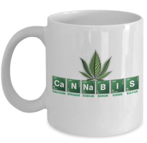 Weed coffee mug cannabis periodic table of elements 420 image is loading weed coffee mug cannabis periodic table of elements urtaz Choice Image