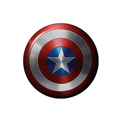 Captain America Shield Marvel Avengers Iron or Sew on Embroidered Patch #1280