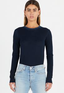 Cotton Citizen damen Standard Shirt Vintage Navy Größe L long sleeve NEW