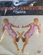 Burlington Medium Size Vintage Seamless Stretch Stockings in a Wild Orchid shade