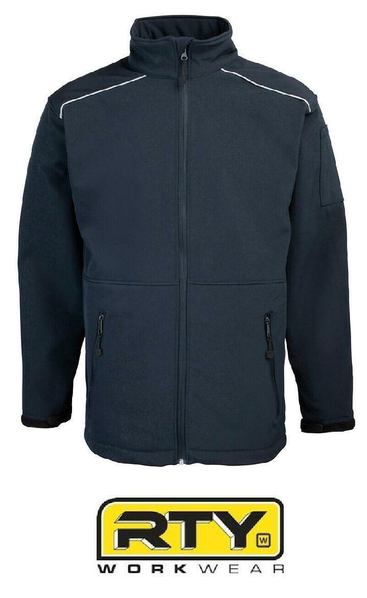 RTY Men/'s Softshell Workwear Jacket RTY101 Water//Windproof Winterwear Coat