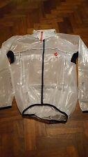 Castelli Transparent Rain Jacket Size Large (L)