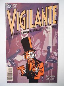 Vintage Dc Comics Vigilante City Lights Prairie Justice 2 1995