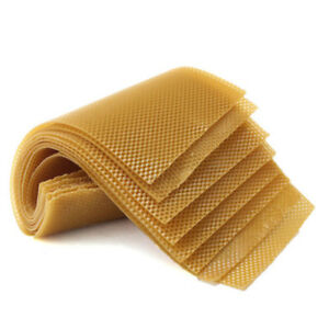 10-PCS-Beekeeping-Honeycomb-Wax-Frames-Foundation-Honey-Hive-Equipment-Tool