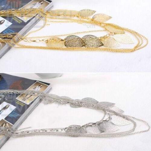 Weinlese-Böhme verlässt mehrschichtige lange Halsketten-hängende Ketten EleTPI