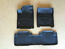 WeatherTech DigitalFit FloorLiner - Ford F-150 SuperCrew - 2005-2008 - Black