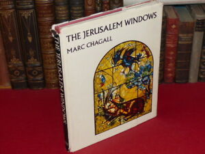ART-XXe-MARC-CHAGALL-THE-JERUSALEM-WINDOWS-Vitraux-1rst-revised-1968