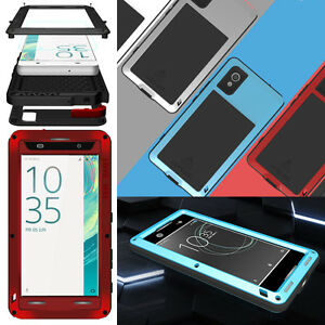 new concept e606b 0b878 Details about LOVE MEI Metal Waterproof Case Cover for SONY Xperia XA1 Plus  / XA1 Ultra / XA2