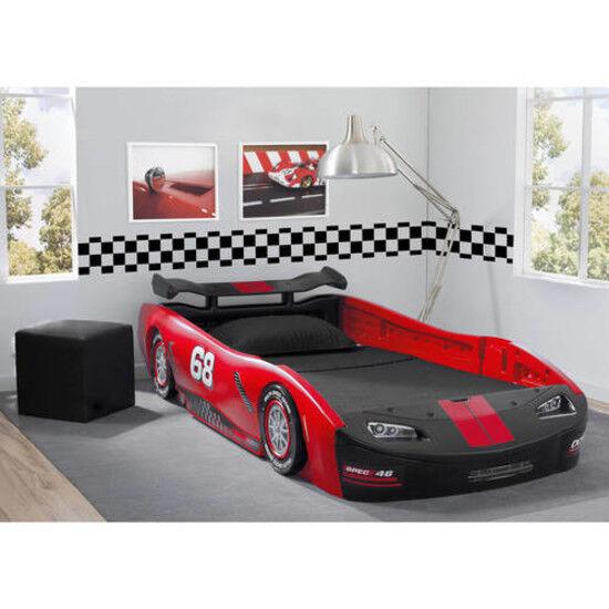 Race Car Bed Best Toddler Boys Twin Beds Frame Kids Bedroom Furniture Children For Online Ebay