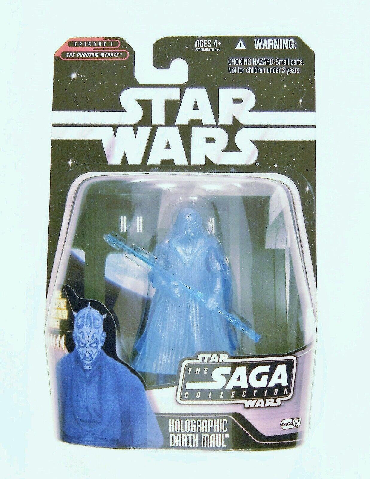 star wars  - saga sammlung hasbro - figur darth maul 3,75