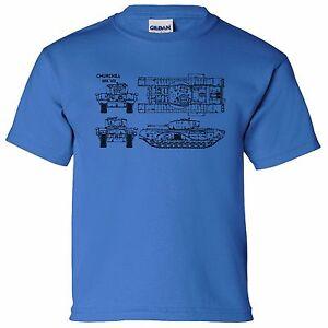 Churchill vii a22 tank blueprint boys kids t shirt thunder war image is loading churchill vii a22 tank blueprint boys kids t malvernweather Gallery